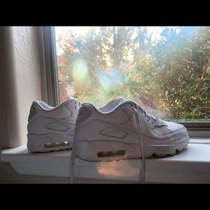 Nike Air Max 90, All Whit Leather